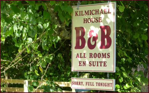 Contact Kilmichael House BandB Drumnadrochit