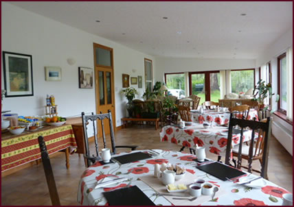 Breakfast at Kilmichael House